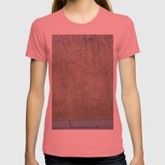 StinkyPinky Womens Fitted Tee Pomegranate SMALL