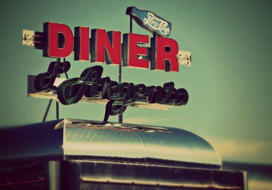 Vintage Diner  Art Print
