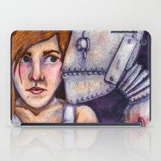 Robot Kiss iPad Case