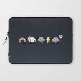 Laptop Sleeve - There's always rainbow after the rain - I Love Doodle