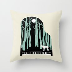 Rachmaninoff -  Prelude in C-Sharp Minor for Piano Throw Pillow