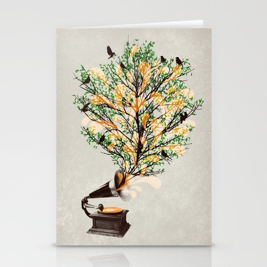 Sound of Nature Stationery Card