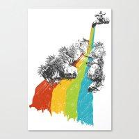 Eden Garden Canvas Print