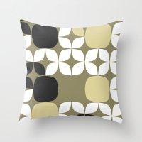 Deco Blocks Throw Pillow