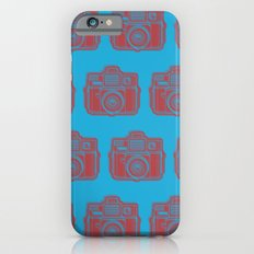 I Still Shoot Film Holga Logo - Blue & Red iPhone 6s Slim Case