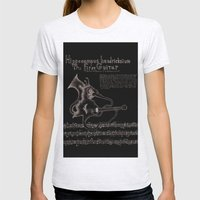 Hippocampus Hendricksium  Womens Fitted Tee Ash Grey SMALL