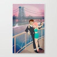 Manhattan Selfie Canvas Print