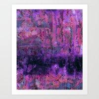Saltwater Pink Art Print