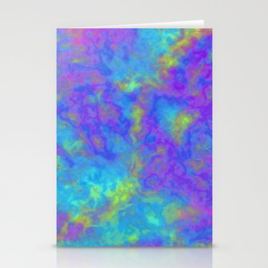 Psychedelic Mushrooms Effects Stationery Card