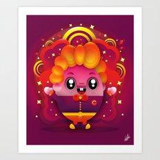 Candy Boy Art Print