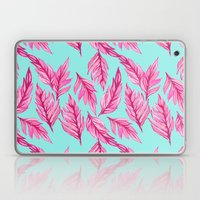 Fuchsia Leaves Laptop & iPad Skin