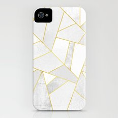 White Stone iPhone (4, 4s) Slim Case