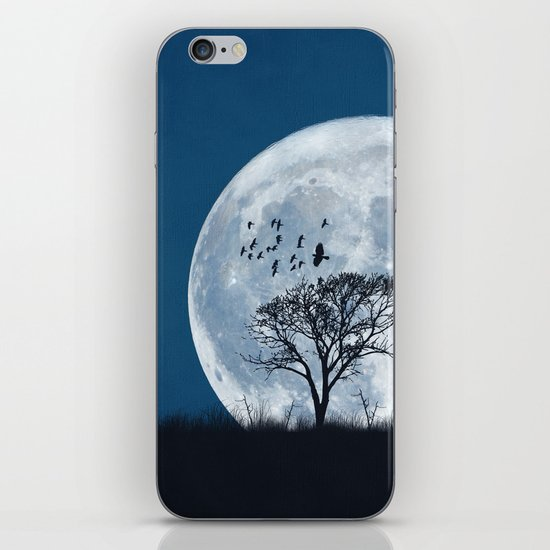 When the moon speaks (part IV) iPhone & iPod Skin