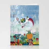 Bird Of Possibility Stationery Cards
