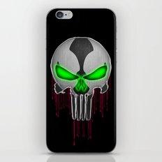 Punisher Spawn Mash-Up iPhone & iPod Skin