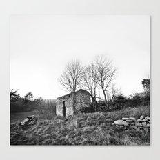 Abandonnée Canvas Print