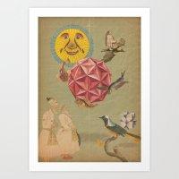 Casbah Art Print