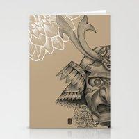 Samurai Mask Version B Stationery Cards