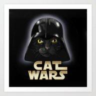 Cat Fener  Art Print