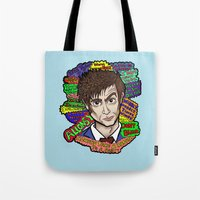 The 10th Doctor Tote Bag