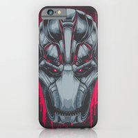iPhone & iPod Case featuring Ultron by Steven Luros Holliday