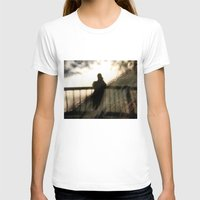 Ghostly Womens Fitted Tee White SMALL