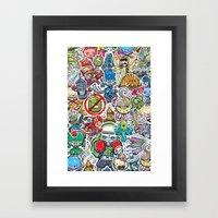 Kampu Kids Framed Art Print