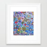 Joyous Framed Art Print