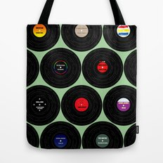 Vinyl Love Tote Bag