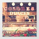 Sweet Colours (Retro Cupcake store) Canvas Print