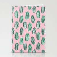 Pattern Project #42 / Ferns Stationery Cards