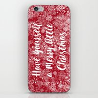 Have Yourself A Merry Li… iPhone & iPod Skin