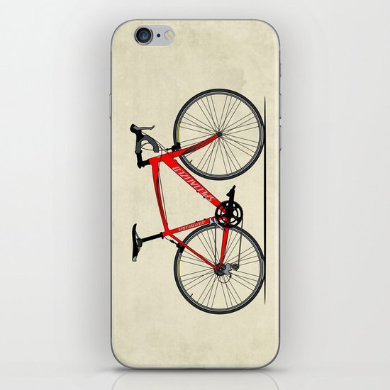 Specialized Racing Road Bike iPhone & iPod Skin