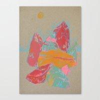 Rocks 1 Canvas Print