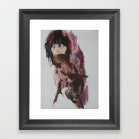 Whatever the hell you want Framed Art Print