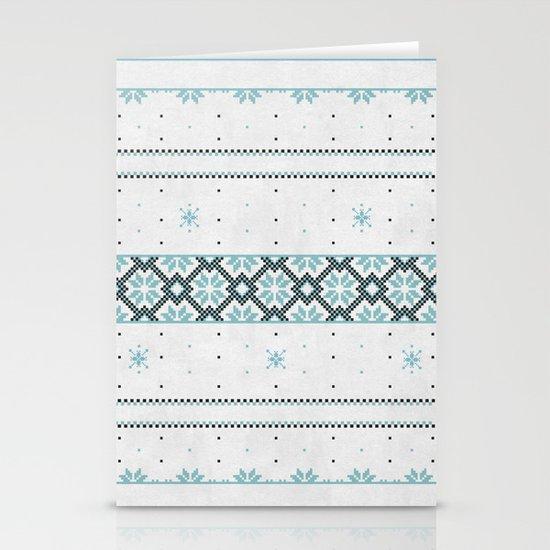 Christmas pattern Stationery Card
