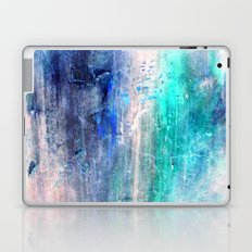 Winter Abstract Acrylic Textured Painting Laptop & iPad Skin