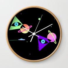 Space Galaxy Magic Wall Clock