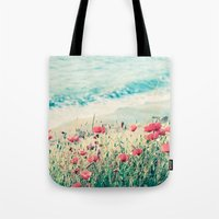 Sea Of Poppies Tote Bag