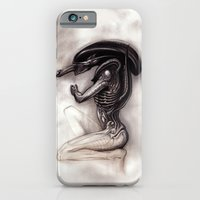iPhone Cases featuring ALIEN - Xenomorph by Denda Reloaded