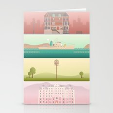 A Wes Anderson Collectio… Stationery Cards
