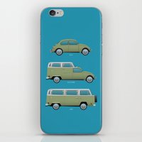 Beetle Camper iPhone & iPod Skin
