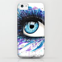 iPhone 5c Cases featuring Open your eyes by PeeGeeArts