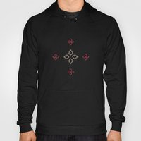 Abstract Floral Shapes Hoody