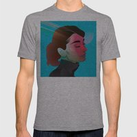 Classy- Audrey Hepburn Mens Fitted Tee Athletic Grey SMALL