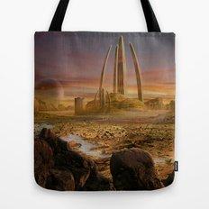 Red City Tote Bag
