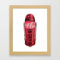 R2 Cola Framed Art Print