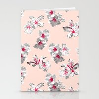 Hibiscus Pink Stationery Cards