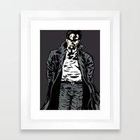 Brooding Framed Art Print