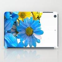 Faded Flowers iPad Case